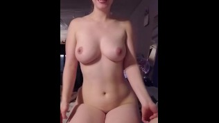 Perfect Body girl Creampie sucking kissing cock and balls