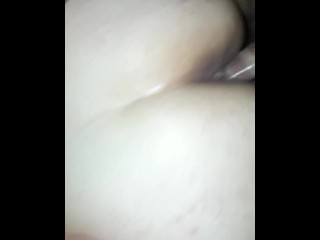 Allision Broadway gets 2 facials and a creampie Party part1