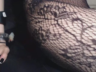 HD EXTREME Closeup Hairy Pussy Rubbing and Fingering