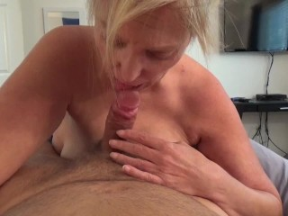 Father's day provide – cum on girlfriend face