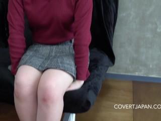 Shy Japanese School Girl Kurumi Fucks Lucky White Guy - Covert Japan