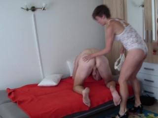 femdom strap-on
