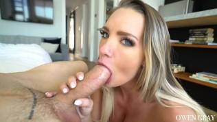 Cali Carter Rides Cock And Sensual Blowjob And Ball Sucking