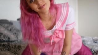 Schoolgirl Gape