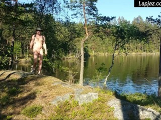 Fairytale Forest Lake Solo Male Nature Fuck - Lapjaz.com Ecosexual Ecoporn