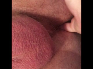 Fingered by My Girlfriend for the First Time! She Makes Me Cum on Cam!