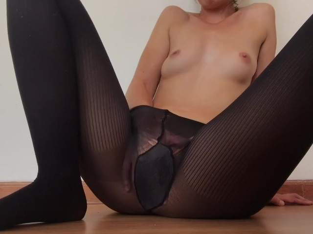 Teen Squirting Orgasm Nylons