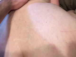 PAWG Takes Big Dick In Her Ass Raw
