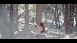Forest Striptease & Fingering Until Orgasm | freckledRED