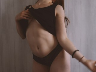 Amateur/solo/with playing panties my