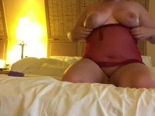 Finally getting some alone time (BBW)