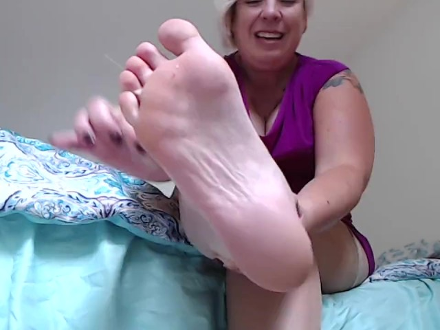 Tied Up Foot Domination