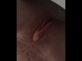 Submissive Girl Begs Daddy to let her pee