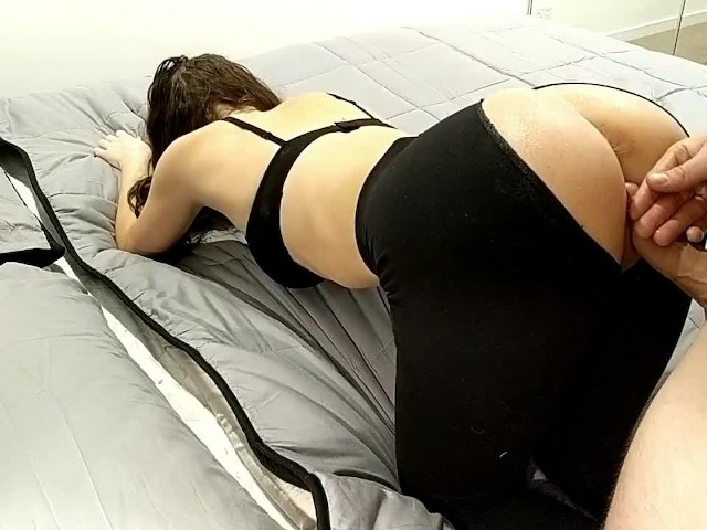 Fucking Her Against The Wall