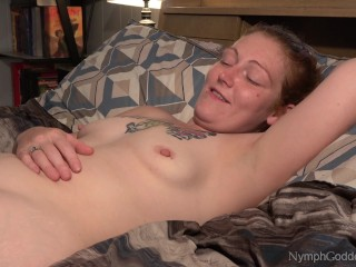 Redhead Milf Ivy having multiple orgasms while her pussy is licked
