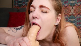Carly Rae. House Of Rae Production. Sizzling Red Head Deepthroat and Squirt