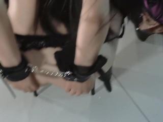 My first Time Hardcore FFM Threesome with RaeLilBlack - POV View