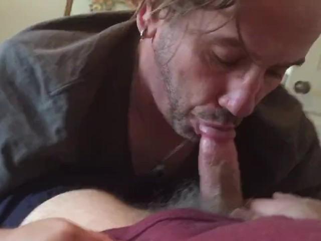 Mature Cougar Sucking Dick