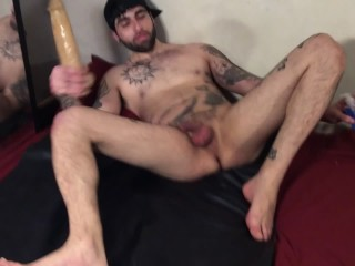 Making my sexy hole drips tons of sexy ass cum