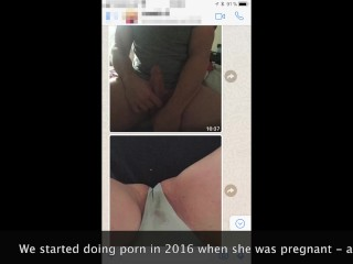 From Horny Pregnant Sexting To Porn Model - Our Sticky Story #GlowUp2018