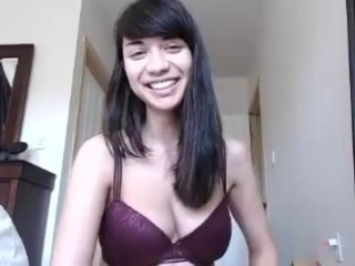 delightfulhug actin cute and ridin dick cam show