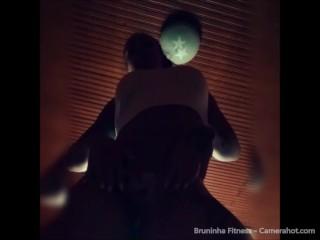 Brazilian model compilation strip tease, fingering, anal and dildo