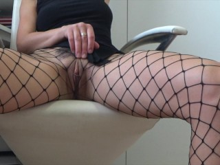 Thelma Fishnet outfit