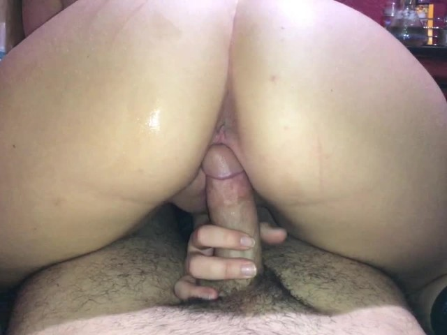Amateur Blonde Reverse Cowgirl