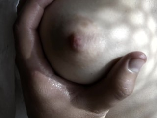 Cumming in my panties and on my wet pussy
