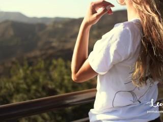 Public Sex Naked on Hollywood's Hills - Amateur Couple Outdoor LeoLulu