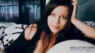 ASMR Girlfriend Roleplay Handjob & Dirty Talk in Bed
