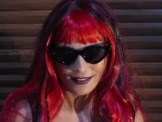 Smoking/hot chick smoking redhead