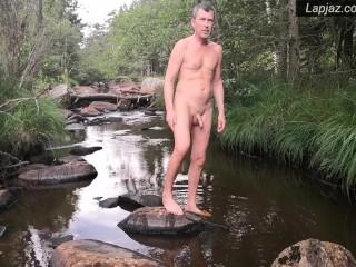 Rainy River Anal Solo Male Dildo Nature Fuck - Lapjaz.com Ecosexual Ecoporn