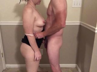 Mom Next Door cheats with her Boy Toy