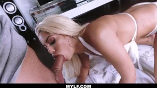 MYLF - Busty White Bikini Latina Clenches A Young Studs Cock