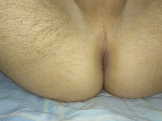 Man ass fuck fisting anal toy