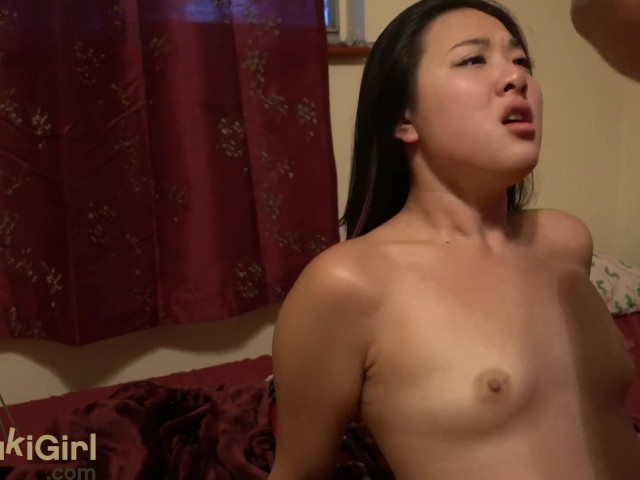 Blue Eyes Asian Moaning For Creampie  Throatfucks His Cock Wmaf - Free Porn Videos -8076