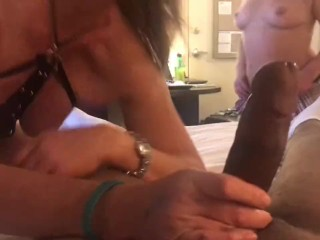 Milf shares cock with stepsister.