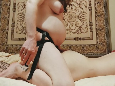 Husband big boy spanked his wife