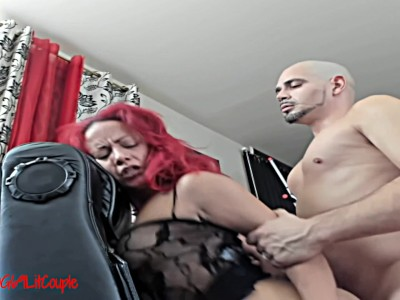 Dick and dildo double penetration