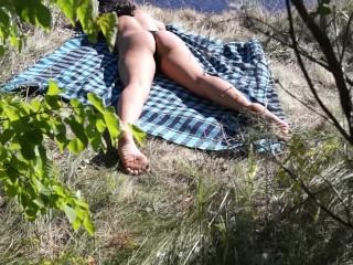 Pov/fit/public on fucks beach hot