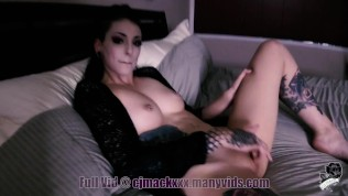 Goth Big StepSister Voyeur Part 1