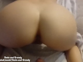 Super wett pussy sounds!POV messy doggystyle creampie! Cum farting pussy!