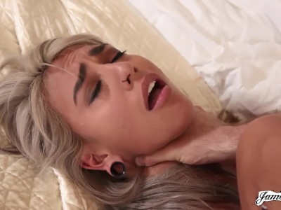 Young Janice Griffith Fucked Rough and Squirting 2 Times in Reverse Cowgirl