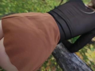 Public Suck N' Fuck – Outdoor Creampie