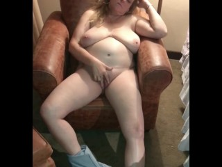 Naked Horny Wife Fingering Her Shaved Pussy To Orgasm - Naughty Homemade
