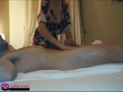 Young Hot Milf Loves To Do Massage With Happy Ending For Extra Money