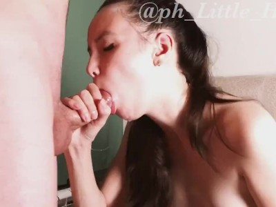 Little Haley - Oral Creampie Compilation