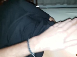 Anal amateur to spanish girlfriend with big natural tits
