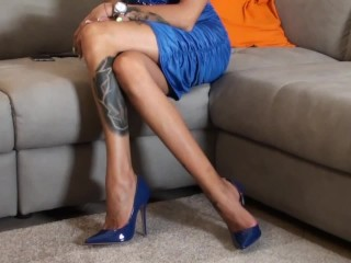 Valeria Curtis fuck a fan in high heels